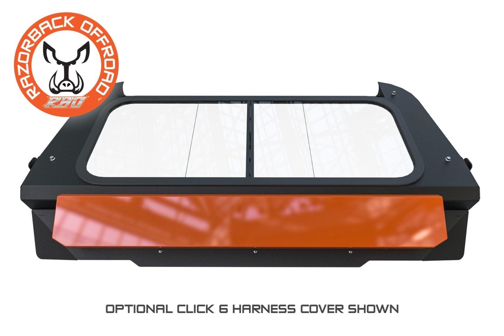 Razorback Offroad Retractable Harness Cover Polaris Rzr Xp