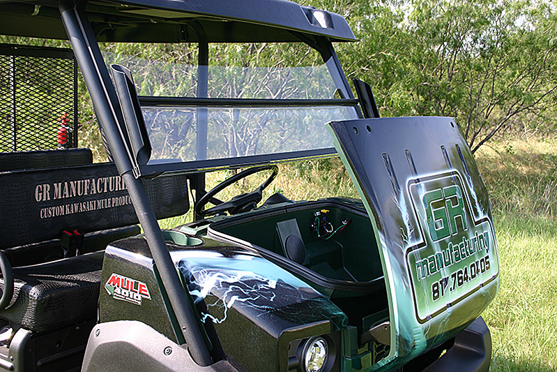 Kawasaki Mule 4000 Series Windshield 171 Utvproducts