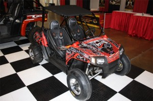 Polaris RZR 170 Long Travel, Roll Cage, Exhaust