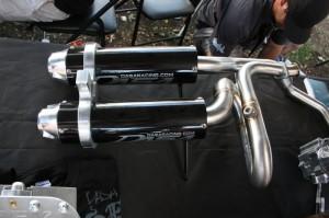 Kawasaki Teryx Dual Exhaust
