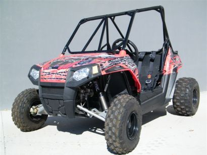 Polaris RZR 170 with DFR's front and rear suspension