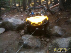 Can-Am Commander 1000 XT on Barrett Lake Jeep Trail