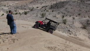 Hill Climb with Kawasaki Teryx