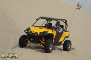 Can-Am Commander 1000 with STU Sand Blasters and Smoothies