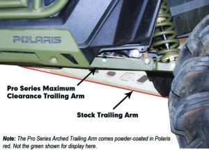 HighLifter Trailing Arm Comparison vs 2