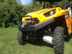 Extreme Metal Products releases a front bumper for the Kawasaki Teryx-4