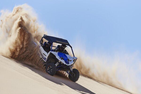 Yamaha Racing Blue-White_Action Shot