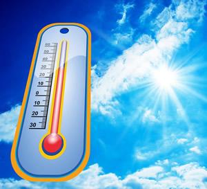 太陽からの放射熱