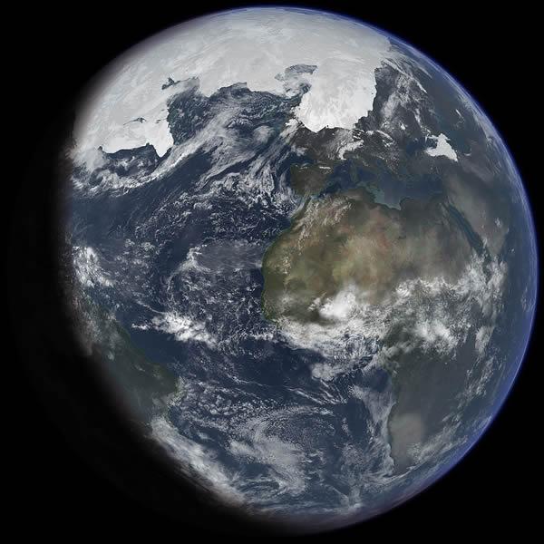 凍りついた地球