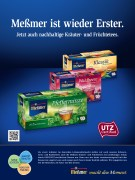 "Advertisement ""Meßmer: first once again"""