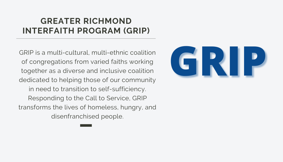Greater Richmond Interfaith Program (GRIP)