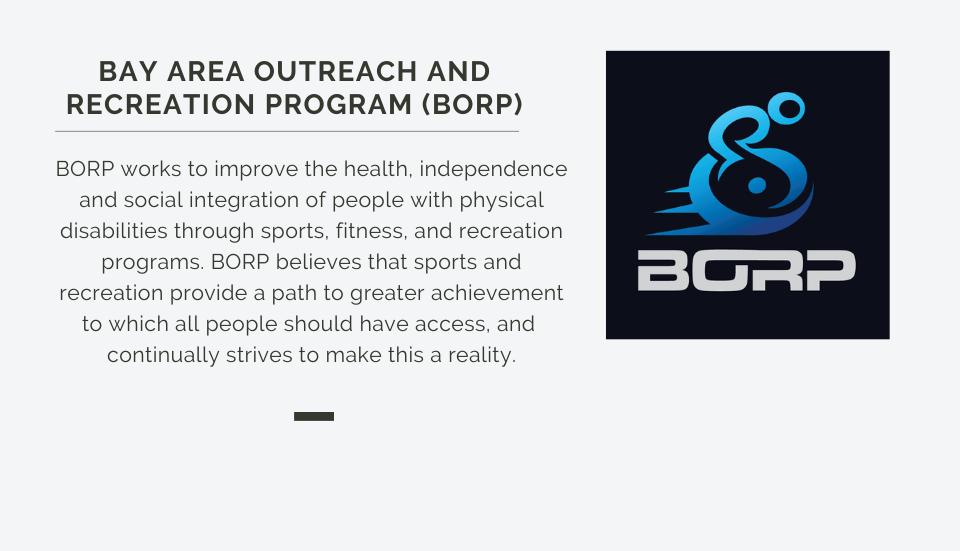 Bay Area Outreach and Recreation Program (BORP)
