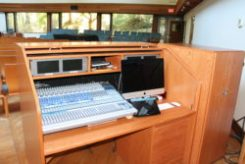 Audio visual equipment enables improved AV services and streaming and recording worship services.