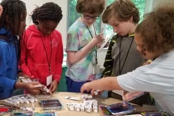 Beacon House-UUCF kids do art