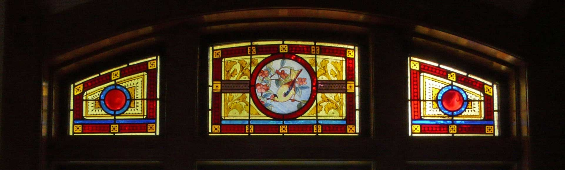 A Stained Glass Window in our Church
