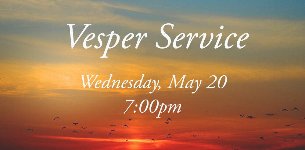 Vesper Service (Online)