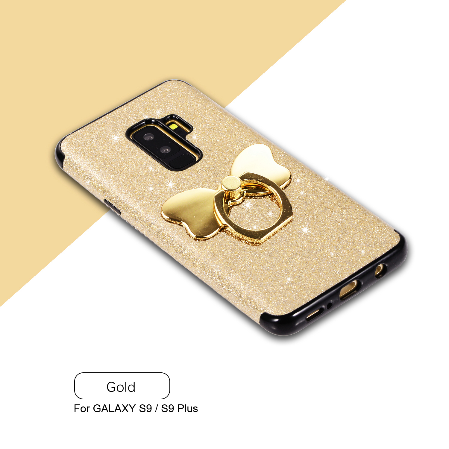 Details About Shiny Tpu Phone Case Cover With Finger Ring Grip Holder For Samsung S10plus S9
