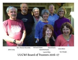 Board of Trustees 2016-17