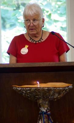 Barbara Gates at UUFN on Forgiveness