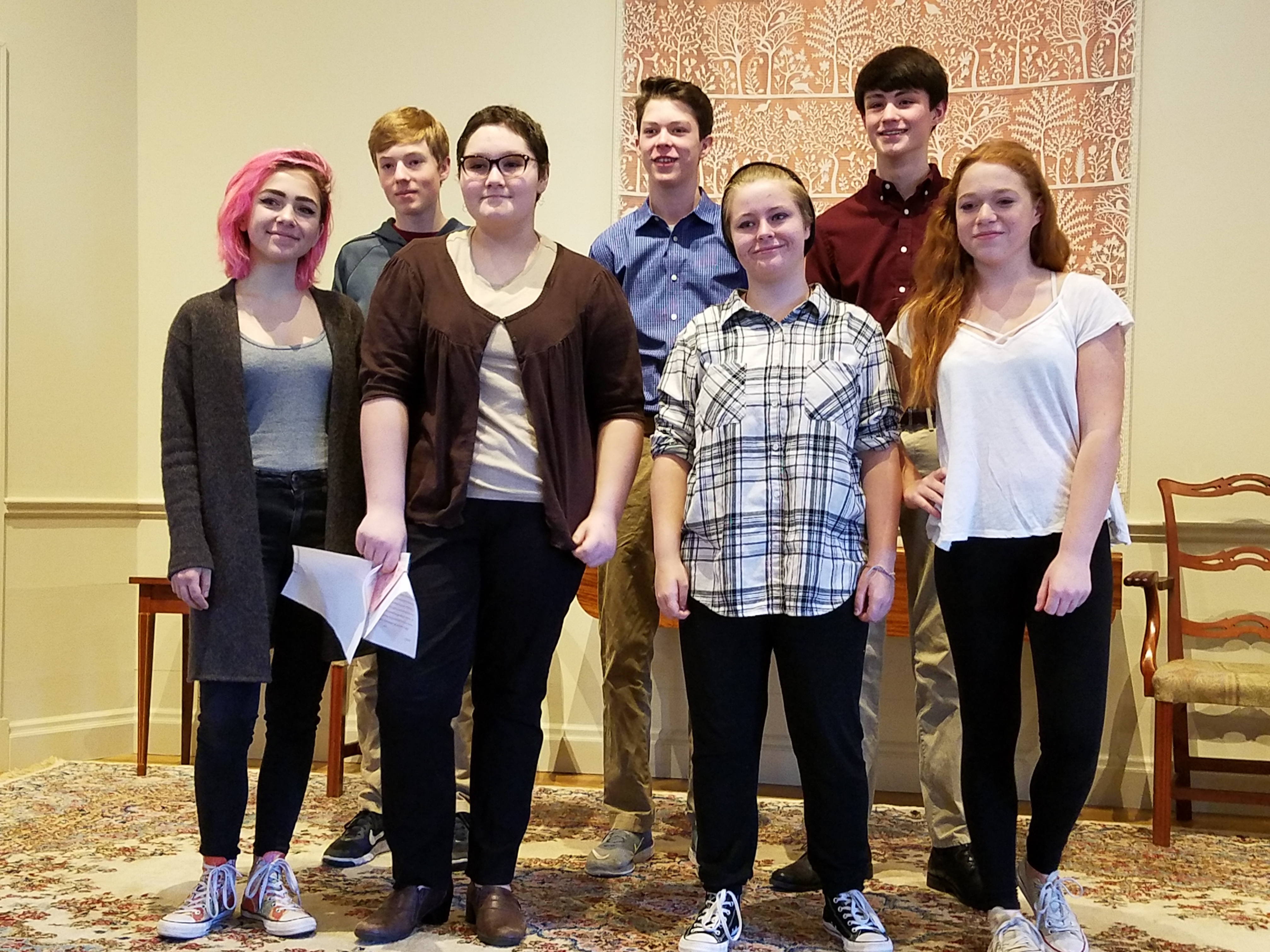 Coming of age participants in 2016