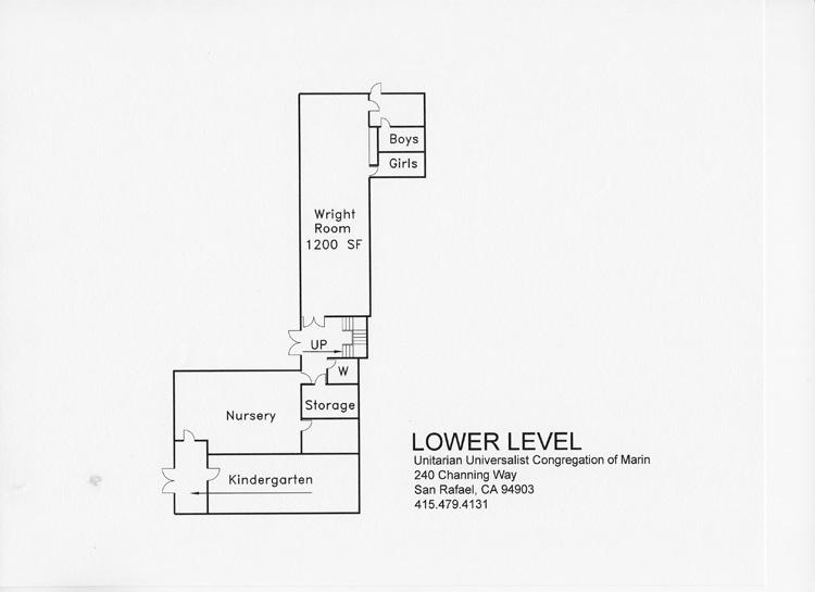 UUCM Lower Floor