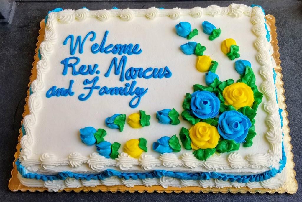 Welcoming Cake