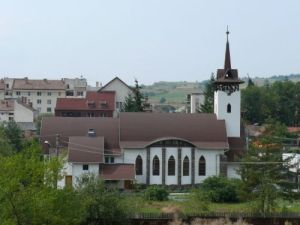 Unitarian Church in Sovata, Transylvania