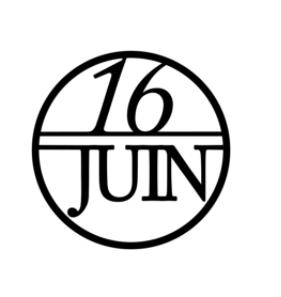 16 Juin Logo