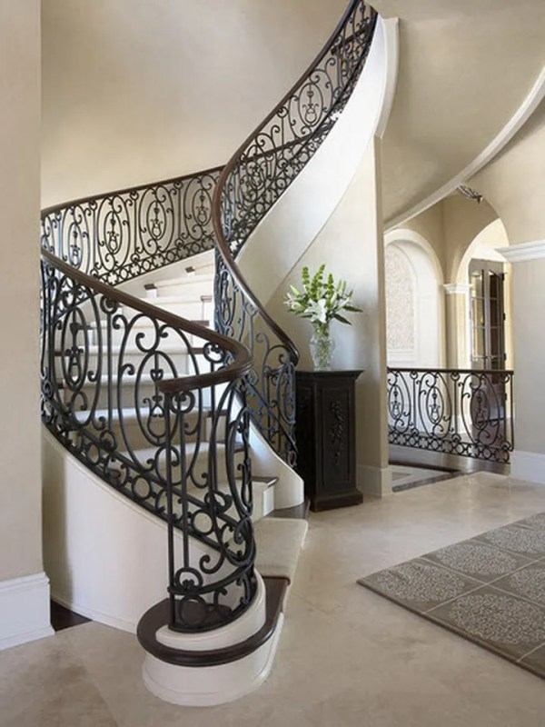 Кованые лестницы - создай утонченный дизайн дома!