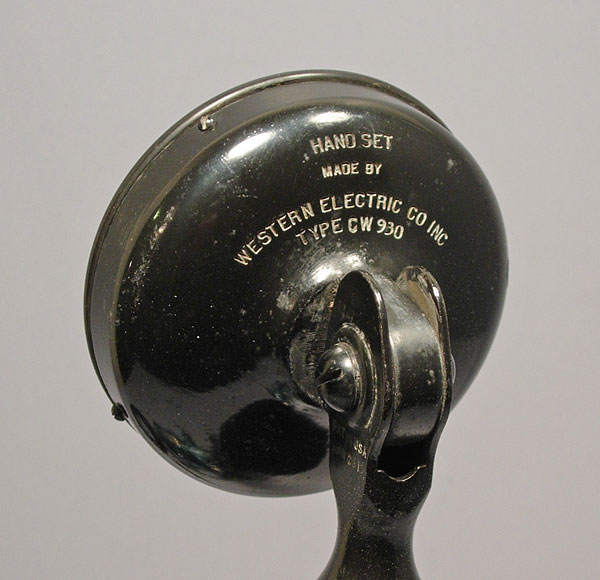 1918 Western Electric Cw 930 Carbon Microphone