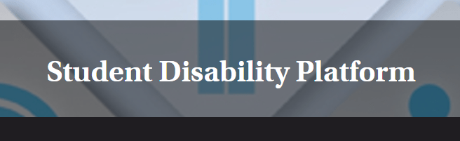 Student Disability Platform is looking for a new name