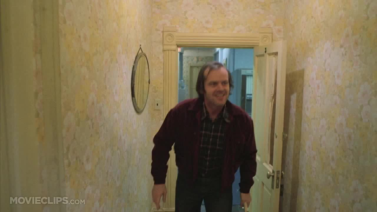 Here's Johnny! Check out how Jack Nicholson prepared for the scene