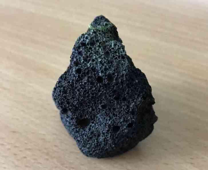 Лава черная