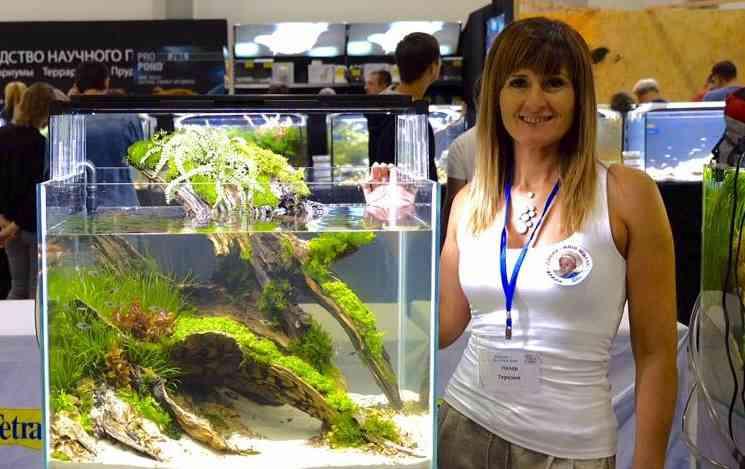 Оформляем аквариум с Терезой Лазар