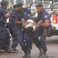Lubumbashi: Dix Hors La Loi sous le verrou
