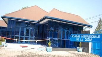 Goma-RDC: Inauguration du bâtiment de l'Académie Interrégionale de DGM