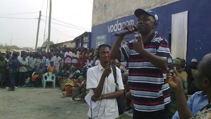 Fizi-RDC: Le chef de l'Opposition Citoyenne  rencontre la population