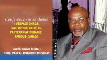 Communiqué: Conférence sur le PARTENARIAT DURABLE AFRIQUE-CANADA