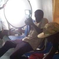 Uvira, tournage de Ataka Nikombali du groupe Makasi Band