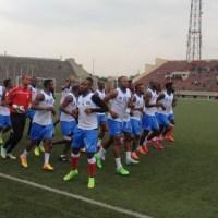 Football-RDC: Can 2017, début d'entrainement chez les Léopards