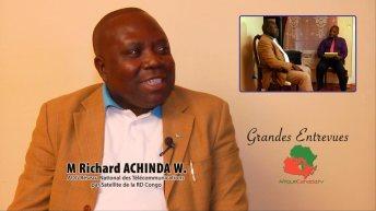 Satellite pour la RDC: Rencontre aux USA avec M. Richard Achinda