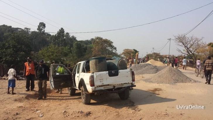 Kavimvira-RDC: les travaux de construction du pont évoluent