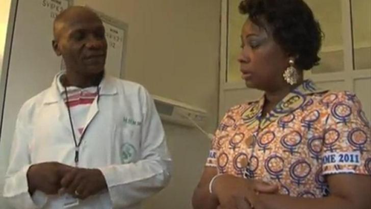 Katanga: La première dame de la RDC, Olive Lembe Kabila, visite l'Hôpital Général de Référence Jason Sendwe