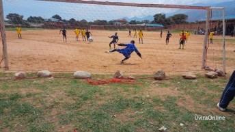 SPORT: Match de faire – play entre les agents de la MONUSCO et les journalistes des médias d'Uvira