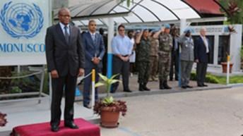 Arrivée à Kinshasa de Maman Sambo Sidikou, nouveau chef de la MONUSCO