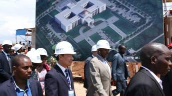 Burundi: Nouveau palais présidentiel, lancement des travaux de construction