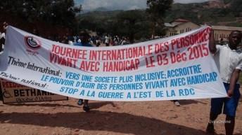 Uvira-RDC: Célébration de la journée internationale des personnes vivant avec Handicap