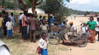 Kavimvira-RDC: Sit in des handicapés devant la direction générale de douanes et assises DGDA