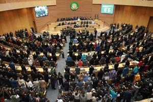 Siège de l'Union Africaine à Addis Abeba/Éthiopie