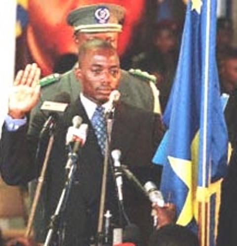 Kabila investi president
